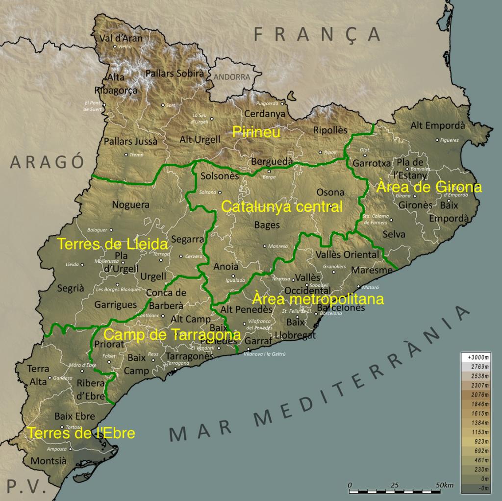 Catalunya+Comarques+Català